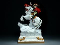 Napoleon Bonaparte I. Konsul bei der Überquerung der Alpen.