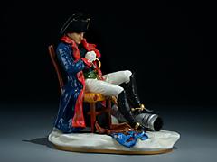 Napoleon Bonaparte I. Konsul bei der Überquerung der Alpen