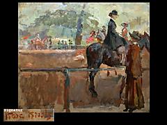 Isaac Israels 1865 Amsterdam - 1934 Den Haag