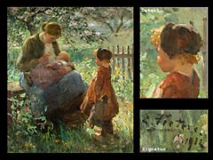Evert Pieters 1856 Amsterdam -1932 Laren