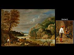 David Teniers der Jüngere, 1610 Antwerpen - 1690 Brüssel, Art des
