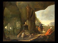Abraham van Cuylenborch 1610 - 1658 Utrecht war ab 1639 in der Malergilde zu Utrecht