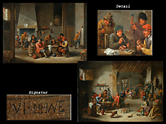 Detail images: David Teniers