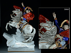 Napoleon Bonaparte, 1. Konsul bei der Überquerung der Alpen