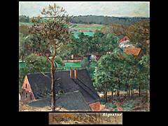 Leopold Graf von Kalckreuth 1855 Düsseldorf - 1920 Gut Eddelsen bei Hittfeld/Niedersachsen