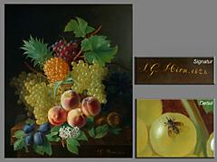 Jean-Georges Hirn 1777 Mühlhausen - 1839 Bedeutender Blumen- und
