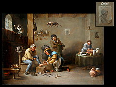 Detail images: David Teniers II, in der Art von