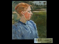 Detailabbildung: Max Liebermann 1847 - 1935 Berlin