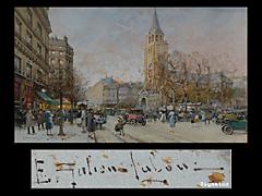 Eugène Galien-Laloue 1854 Paris - 1941 Chérence