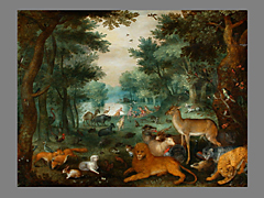 Jan Brueghel der Jüngere (1601 - 1687 Antwerpen) und Denis van Alsloot (1570 Malines - 1628 Brüssel)