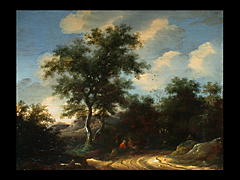 Salomon van Ruysdael 1600 - 1670, in der Art von