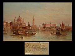 Alfred Pollentine 1836-1910
