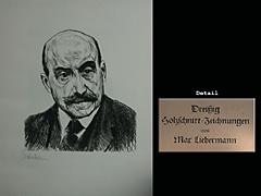 Dreißig Holzschnitt-Zeichnungen von Max Liebermann geschnitten von Reinhold Hoberg