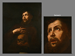 Jusepe de Ribera, 1588 - 1652, Umkreis