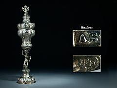 Silber-Deckelpokal