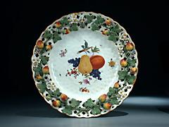 Seltener Porzellan-Teller