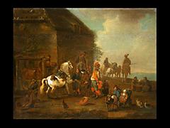 Pieter Wouwerman 1623 - 1682 Amsterdam, in der Art von