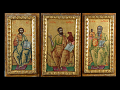 3 griechische Ikonen