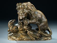 Der Kampf des Löwen mit dem Adler