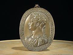 Bronze-Plakette Georg III