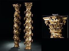 Paar seltene Säulen