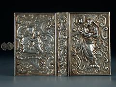 Bucheinband aus Silber