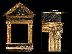 Früher italienischer Renaissance-Rahmen