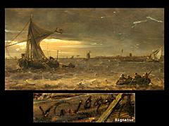 Detailabbildung: Jan van Goyen