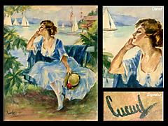 Eduard Cucuel 1875 - 1954 USA