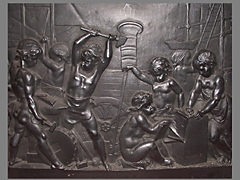 Französische Eisenplatte