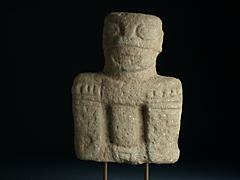 Präkolumbianische Figur