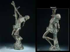 Skulptur des Heiligen Sebastian