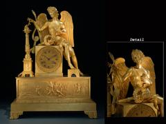Kaminuhr von Delaunoy, Eleve de Breguet
