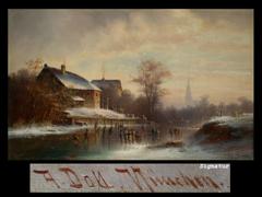 Anton Doll 1826 - 1887 München