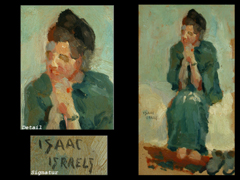 Isaak Israels, 1865 Amsterdam - 1934 Den Haag