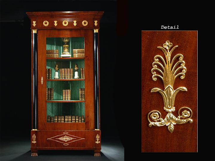 gro e empire vitrine hampel fine art auctions. Black Bedroom Furniture Sets. Home Design Ideas