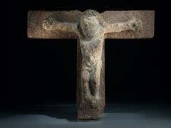 Steinkruzifix
