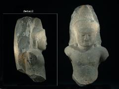Khmer-Büste