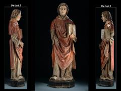 Darstellung eines Evangelisten (Abb. rechts)