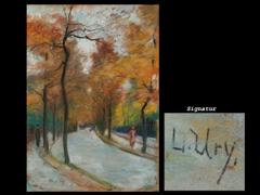 Detailabbildung:  Lesser Ury, 1861 - 1931