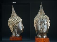 Sehr feiner thailändischer Boddhisatva-Kopf