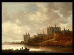 Detailabbildung:  Jan Jozefsz van Goyen, 1596 - 1656