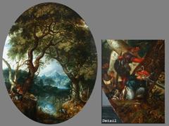 Detailabbildung:  Roelant Jacobsz Savery, 1576 - 1639
