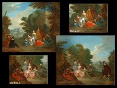 Jean Baptiste Pater,  1695 - 1736, zug.
