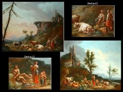 Detailabbildung:  Jean-Baptiste Claudot, genannt Claudot de Nancy, 1733 - 1805 Nancy