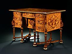 Bedeutendes Louis XIV-Bureau-Mazarin, Thomas Hache zug.