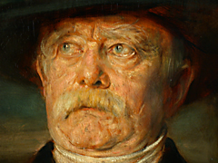 Detail images: Franz von Lenbach 1836 - 1904