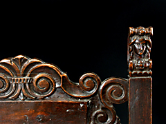 Detail images: Kinderstuhl