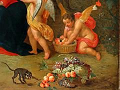 Detailabbildung: Jan Brueghel I. und Henrik van Balen 17. Jhdt., zug.