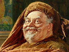 Detail images: Eduard von Grützner 1846-1925 München